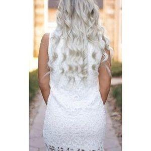 rosie daze Dresses - White lace dress